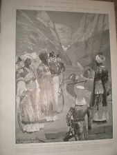 Transference of Aden to the British in 1700 RC Woodville 1903 print