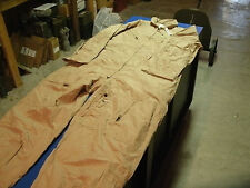 USMC NOMAX FLYING SUIT COVERALLS TAN CWU-27/P 50 R REGULAR NEW