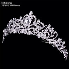 Tiara Headband Crystal Rhinestone Wedding Bridal Hair accessorie Headpiece