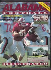 1993 Alabama Tide v Arkansas Razorbacks Football Program 9/18/93 Ex 19121