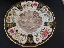 Vtg 1978 MASONS IRONSTONE Xmas Christmas Plate Queen Victorias BALMORAL CASTLE