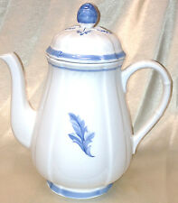 VILLEROY BOCH CASA AZUL COUNTRY COLLECTION 4 CUP COFFEE POT &LID 2293 BLUE WHITE