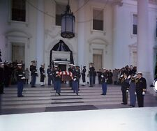 John F.Kennedy, State Funeral of John Kennedy,Departure from the White House # 3