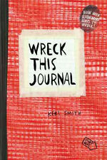 Wreck This Journal (Red) Expanded Ed. [Paperback] Keri Smith,