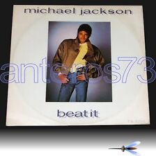 "MICHAEL JACKSON ""BEAT IT"" RARE 12"" MADE IN ENGLAND 1983"