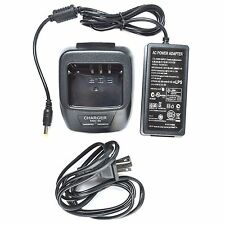 Rapid Li-ion Charger KSC-35 For Kenwood KNB45L KNB63L TK2202L Portable Radio