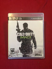 Sony Playstation PS3 Video Game Call of Duty Modern Warfare 3 MW3 Rated M
