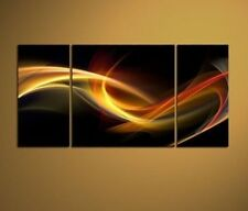 3pc MODERN ABSTRACT ART OIL PAINTING ON CANVAS(No frame)