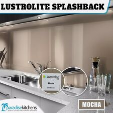 new lustrolite mocha acrylic kitchen splash back better than glass 2700x760