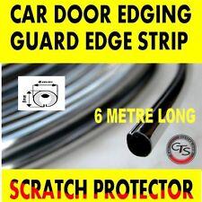 6m CHROME CAR DOOR GRILLS EDGE STRIP PROTECTOR BMW Z3 E34 E39 E60 E61 E87 E81 M5