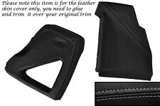 GREY STITCH DASHBOARD SIDE TRIM COVERS FITS LAND ROVER DEFENDER 90 110 83-06