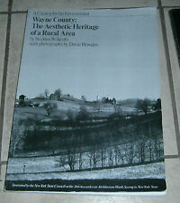 Wayne County The Aesthetic Heritage of a Rural Area Stephen Jacobs