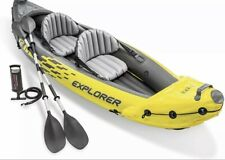 Intex Par de remos hinchables para barca o canoa 122 cm