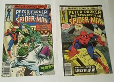 peter parker, the  spectacular spiderman # 34, 35