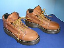 MEN'S DR. MARTEN'S 9365 OVER ANKLE LACE UP TAN HIKING TRAIL BOOTS SIZE 7