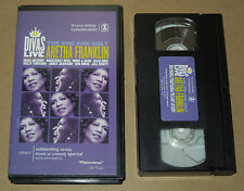 VH1 Divas Live The One and Only Aretha Franklin with Various Artists (VHS, 2001)