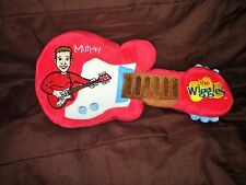 THE WIGGLES Touring Party 2009 MURRAY RED PLUSH GUITAR Soft Stuffed TOY