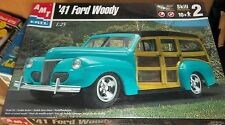 AMT Ertl 1941 FORD WOODY CUSTOM Model Car Mountain KIT FS