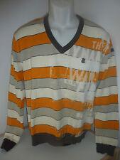 O´Neill Pullover - Pulli Herren - Gr. M - orange weiß gemustert - Sweater - TOP!