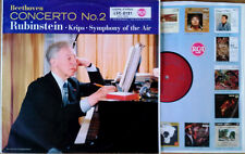 BEETHOVEN / CONCERTO NO. 2 - A.RUBINSTEIN - RCA 2121 - LIVING STEREO - GERMAN LP