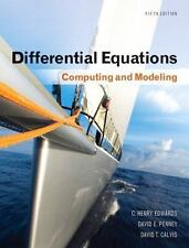 Differential Equations: Computing and Modeling 5th Edition Edwards/Penney/Cal