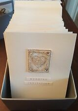20 x Hand made Wedding Invites Invitations (with envelopes)