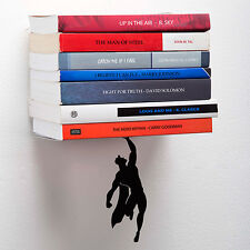 Supershelf- Super Hero Book Shelf- Hidden Floating Wall Shelf Superman Mystery