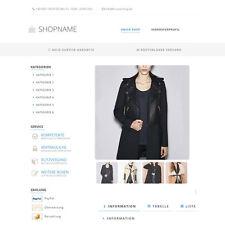 """eBay Auktionsvorlage """"Gala"""" Blau Responsive Design HTML Template Vorlage"""