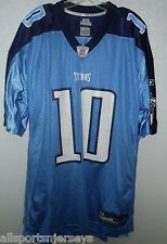 BLEMISHED NFL TENNESSEE TITANS VINCE YOUNG #10 HOME COLORS REEBOK JERSEY 3XL