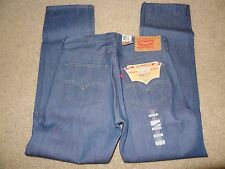 NWT-Levi's 501 Original Shrink To Fit Button Fly Jeans Mens Size 31X32