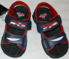 Sandals Disney Cars boys size 9.5M new EUR26.5 man made materials + lights