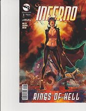 Inferno Rings of Hell #3 Cover C GFT Zenescope NM Valentino