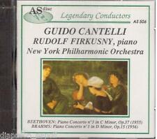 beethoven: Concerto N.3; Brahms: Concerto N.1  / Guido Cantelli, Firkusny - CD