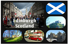 EDINBURGH, SCOTLAND - SOUVENIR NOVELTY FRIDGE MAGNET - BRAND NEW