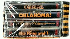 Rodgers & Hammerstein 50th Anniversary 4 cassette set Oklahoma Carousel King & I