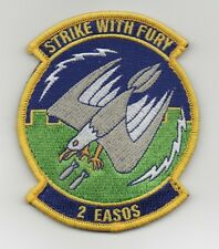 """USAF Patch 2nd EXPEDITIONARY AIR SUPPORT OPERATIONS SQUADRON,  4"""" Size"""