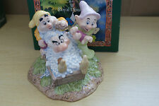 GRUMPYS BATHTIME from SNOW WHITE & the SEVEN DWARFS ROYAL DOULTON DISNEY