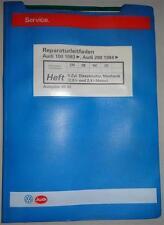 Werkstatthandbuch Audi 100 / 200 C3 5 Zyl. Dieselmotor (CN, DE, NC, 3D) ab 1983