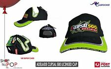V8 SUPERCARS Clipsal 500 ADELAIDE 2010 CAP BNWT EMBROIDERED RACING TRACK Black