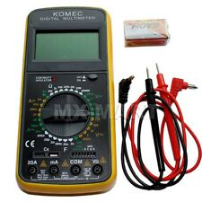 DIGITAL MULTI-METER AC DC VOLTAGE CURRENT CABLE TESTER