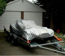 WIDE Body Caterham / Westfield Car Cover & Tie Down Trailer Net & Bungee Cord