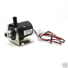 "DC 12V Pump Barb 3/8"" OD For  Water Cooling System  G/14 Thread 3 Pin Connector"