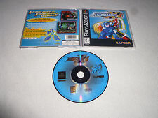 PLAYSTATION VIDEO GAME MEGA MAN X4 COMPLETE W MANUAL CAPCOM MEGAMAN PS1