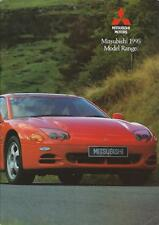 Mitsubishi 1995 Range UK Brochure includes Lancer 3000GT Galant Shogun 24 Pages