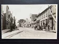 Circa 1919 Real Photo Postcard RPPC Water Street CHATHAM New Brunswick Canada