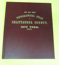 NEW TOPGRAPHICAL ATLAS OF CHAUTAUQUA COUNTY, N.Y. 1867 ~ REPRINT, LTD. EDITION