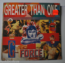 GREATER THAN ONE: G Force LP Record 1989