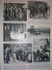 Photo article Queen Elizabeth II visit to Hull 1957
