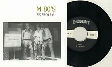 "M 80's - Big Bang E.P. 7"" CT Power Pop Doug Derek & The Hoax Reducers Bats Toes"