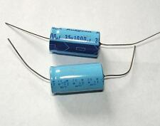 Rubycon 1000uF35V 31x16 85C Axial Electrolytic Capacitor Lot-4pcs